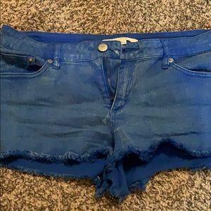 Forever 21 blue shorts size 29